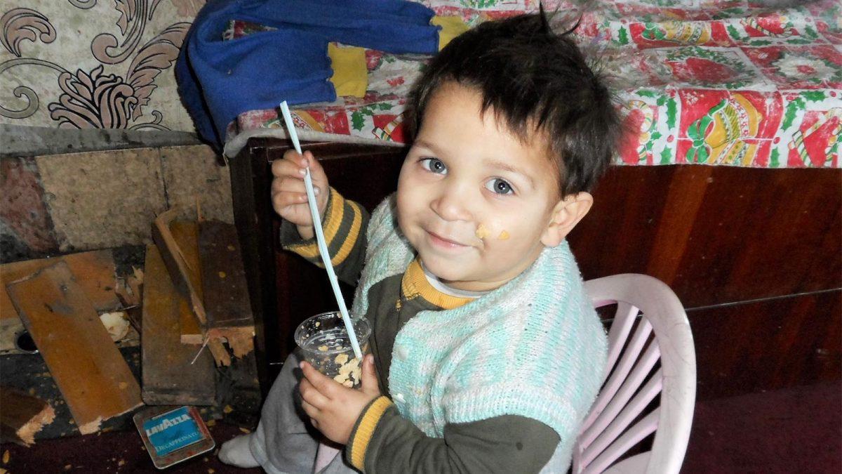 Gi en julegave til en familie i Bulgaria